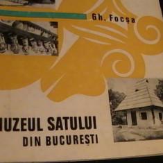 MUZEUL SATULUI DIN BUCURESTI-GH. FOCSA- - Album Muzee