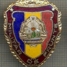ZET 703 INSIGNA,, MILITAR DE FRUNTE