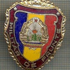 ZET 693 INSIGNA,, MILITAR DE FRUNTE