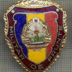 ZET 753 INSIGNA,, MILITAR DE FRUNTE