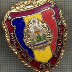 ZET 723 INSIGNA,, MILITAR DE FRUNTE
