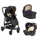 Carucior Evo II 3 in 1 Navy Sand, Graco