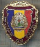 "ZET 775 INSIGNA ,,MILITAR DE FRUNTE"" - PERIOADA RSR - PENTRU NOSTALGICI"