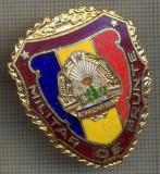 "ZET 734 INSIGNA ,,MILITAR DE FRUNTE"" - PERIOADA RSR - PENTRU NOSTALGICI"