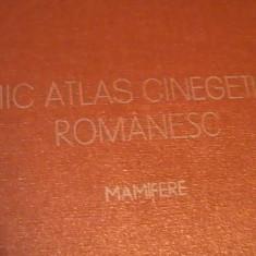 MIC ATLAS CINEGETIC ROMANESC-MAMIFERE-DR.L. MANOLACHE-DRG. DISESCU-