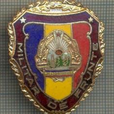 ZET 694 INSIGNA,, MILITAR DE FRUNTE