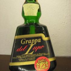Rare tuica DEL LUPO, pilla spa,, ani 1960, cl 75 - gr 40