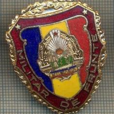 ZET 718 INSIGNA,, MILITAR DE FRUNTE