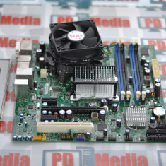 Placa de baza 775 DDR2 Intel DQ45CB DVI-I, DVI-D Cadou Cooler, Port Com