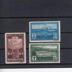 ROMANIA 1932, LP 100, SANATORIUL PTT SERIE MNH - Timbre Romania, Nestampilat