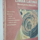 Limba Latina, manual pentru clasa a IX-a, 1999 - Manual scolar, Clasa 9, Alte materii