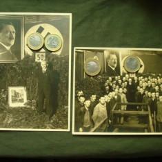 Lot 2 fotografii militare germane, al 3-lea Reich WW 2/foto portret si de grup