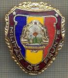 "ZET 763 INSIGNA ,,MILITAR DE FRUNTE"" - PERIOADA RSR - PENTRU NOSTALGICI"