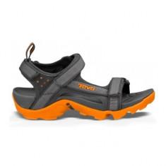 Sandale pentru fete Tanza Grey/Orange (TVA-110218J-GORN-W) - Sandale dama Teva, Culoare: Gri, Marime: 36, 37, 40