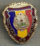 "ZET 779 INSIGNA ,,MILITAR DE FRUNTE"" - PERIOADA RSR - PENTRU NOSTALGICI"