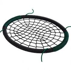 Leagan Kbt Cuib Oval PP Negru Verde