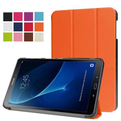 Husa Ultra Slim Samsung Galaxy Tab A 10.1 T580 T585 orange (cod:USLO58) foto