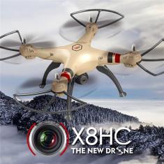 SYMA X8HC drona 2.4Ghz Quadcopter camera video 2MP si Altitude Hold Mode