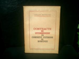Contracte de intermediere in comertul exterior al Romaniei - Roxana Munteanu