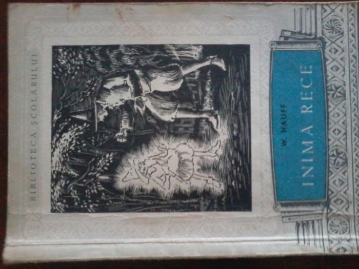 W. HAUFF - INIMA RECE