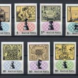 Ungaria 1974 sport sah - serie nestampilata MNH - Timbre straine