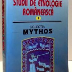 STUDII DE ETNOLOGIE ROMANEASCA de PAMFIL BILTIU, 2003 - Carte Fabule