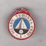bnk ins Insigna Pionieri Cehoslovacia - Tanarul Turist