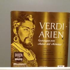 VERDI - ARIAS - MARIO DEL MONACO - Disc '7(1969/DECCA/RFG) - VINIL/Rar/Impecabil - Muzica Clasica decca classics
