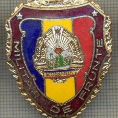 ZET 782 INSIGNA,, MILITAR DE FRUNTE
