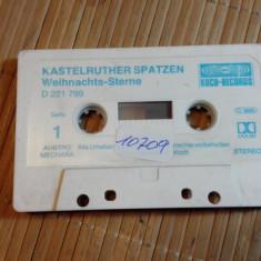 Caseta Audio Kastelruther Spatzen Weihnachts-Sterne (010709) - Muzica Sarbatori, Casete audio