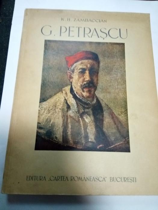 G.PETRASCU - autor K.H. ZAMBACCIAN - 1945