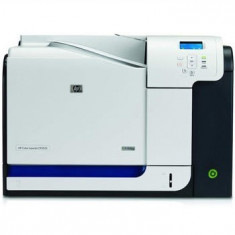 Imprimante second hand HP Color LaserJet CP3525N, 30ppm, Retea - Imprimanta laser color
