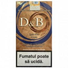 Tutun pentru rulat sub forma de tigari de foi D&B--42, 5 grame