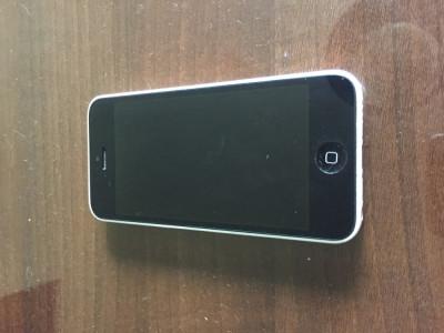 Iphone 5C Alb foto