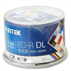 Ritek BD R DL 50Gb printabil 1-6x 50 bucati