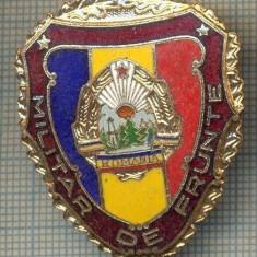 ZET 785 INSIGNA,, MILITAR DE FRUNTE