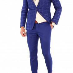 Costum - sacou + pantaloni + vesta - costum barbati 8702, Marime: 44, 46, 50, 52, 54, 56, Culoare: Din imagine