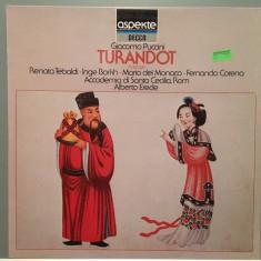 PUCCINI - TURANDOT - Extracts (1979/DECCA REC/GERMANY) - VINIL/IMPECABIL - Muzica Opera decca classics