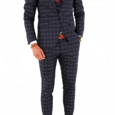 Costum - sacou + pantaloni + vesta - costum barbati 8708, Marime: 44, 48, 52, Culoare: Din imagine