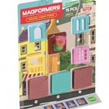 Set Accesorii Magformers - Casuta (15 Buc) - Jocuri arta si creatie