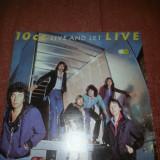 10 CC Live and Let 2LP Gatefold-Mercury 1977 Holland vinil vinyl - Muzica Rock