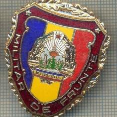 ZET 786 INSIGNA,, MILITAR DE FRUNTE