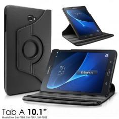 Husa cu inel rotativ Samsung Galaxy Tab A (10.1) - T580/T585 (cod:RGT580) - Husa Tableta, 10.1 inch