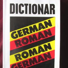 DICTIONAR GERMAN - ROMAN, ROMAN - GERMAN, Ioan Lazarescu