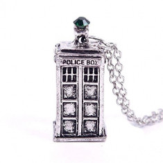 Pandantiv Medalion Lantisor Doctor Who Police - Pandantiv fashion