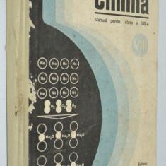 Manual pentru clasa a VIII - a, Chimia -1989 - Manual scolar, Clasa 7, Limbi straine