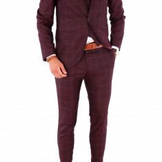 Costum - sacou + pantaloni + vesta - costum barbati 8704, Marime: 44, 46, 48, 50, 52, 54, Culoare: Din imagine