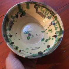 Farfurie / Strachina / blid / bol - mestesug taranesc / arta populara !!! - Arta Ceramica