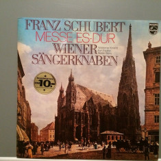 SCHUBERT - MESSE nr. 6 ES-DUR (1973/PHILIPS/West Germany) - VINIL/Impecabil - Muzica Clasica universal records