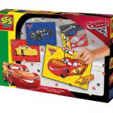 Ses Junior - Set Creativ Mozaic Cu Spuma - Disney Cars 3